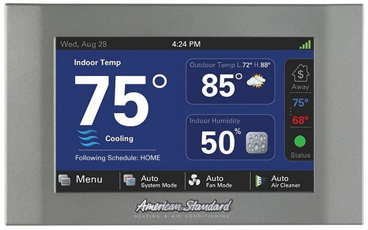 Internet Enabled Thermostat Not Connecting To Weather
